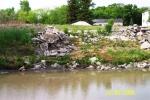 Dumping along Seine River