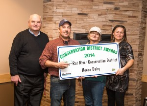 Heese Dairy Award Photo at MCDA