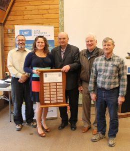 SRRCD Award photo - Chris Randall- Jodi Goerzen- Cornie Goertzen- Alex Salki-Larry Bugera